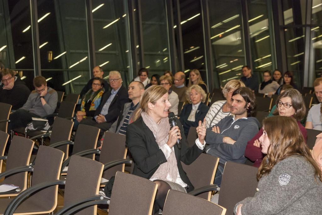 Offene Diskussion im Publikum